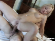 Casonova uses his charm on a nun and warms her into fucking by eating her tight shaved pussy.