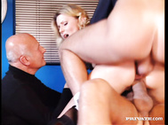 Gold digging Sandra Sunrise overstays her welcome at a bar with her husband.