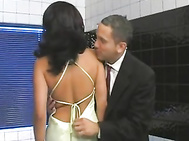 Beautiful housewife and her younger lover 522