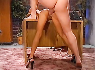 Naughty And Wild Fuck Session At The Office