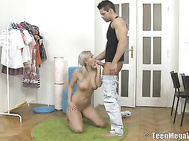 It turned out that Niki doesn't mind to get her asshole fucked.