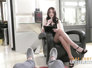 Sex addict can't cease fucking attractive babes