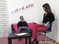 Anus fuck on a casting couch