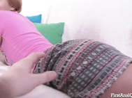 FirstAnalQuest: Hardcore Anus Sex with a Cute Teen Euro Teeny