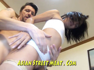 Gracefull Asian Buttocks Buggered