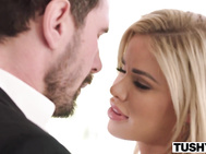 TUSHY Jessa Rhodes Intense and Hot Anus With Driver