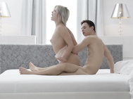 THE WHITE BOXXX - Innocent Hungarian Zazie Skymm enjoys passionate sex with lover