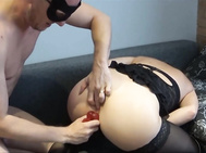 Slut Oldma BoundGets Tied Up and Dicked to Mighty Female Ejaculation Orgasm