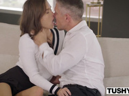 TUSHY Mischievous Nymphos Gets Gaped By Her Choice Friends Dad