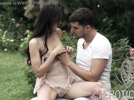 Passionate anus sex in nature for beauty Lilu Moon