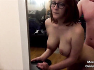 nerdy milf fuck while her husband is out - visit OsirisPorn.com to watch more films