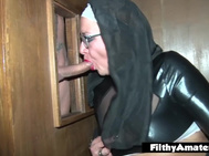 Sister Fuck! SLAVE and Anus for the Nun!