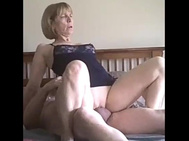Horny Blonde Mom Fuck on our Date