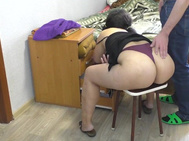 The Stepmother Bent down and the Son Fucked her in the Massive Backside. Oldma Asshole