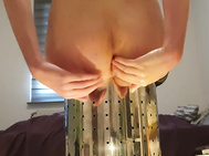 Teenage Loves to Fist her in the Backside and Gapes Challenging (4K)- Anallove2000