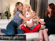 MommysGirl Kenzie Reeves' Step-Mothers Team up to Fuck her