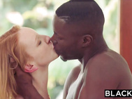 BLACKED Red head mature goes insane on massive ebony cock