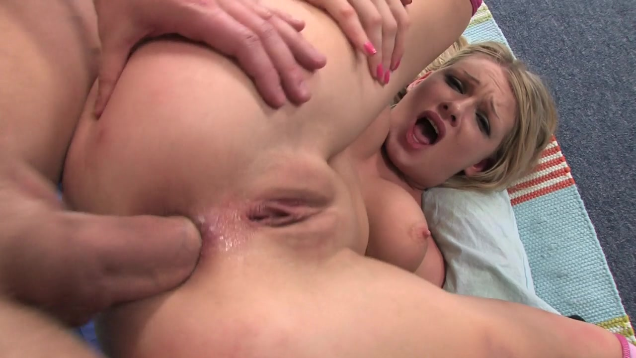 Her tight holes got brutally invaded and wildly stuffed, in a hardcore threesome that she is bound to remember.