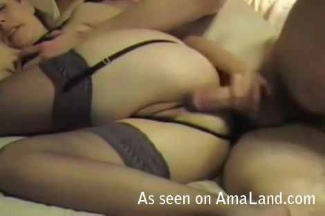 anal fucking from this horny amateur couple
