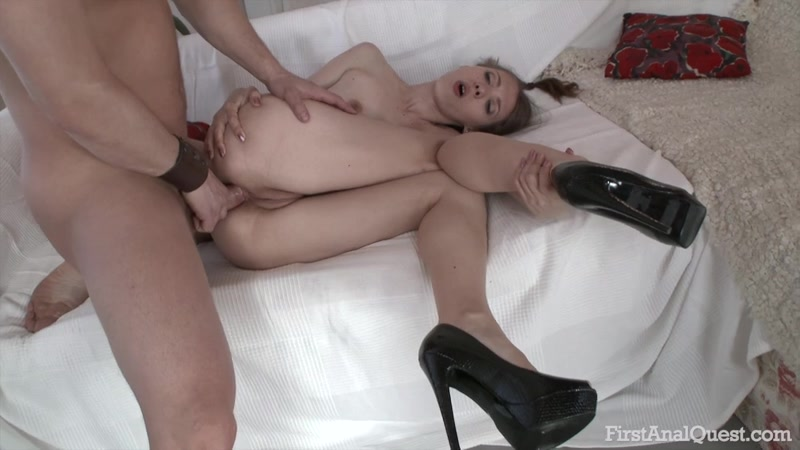 Stephanie Moon moans loudly with just a thump up her ass, an entire erect cock will blow her mind.